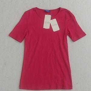 Escada Sport pink Cotton Top size Small